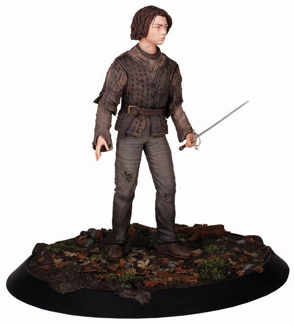 Estatua de Arya Stark