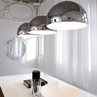 Candeeiros tecto sala moderno