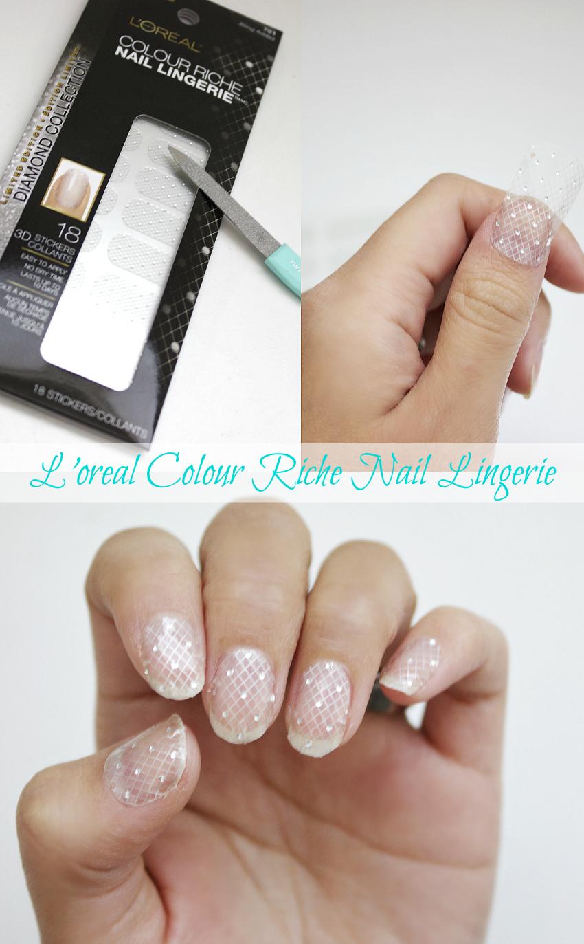Emma Cristy: L\'oreal Colour Riche Nail Lingerie Review [Diamond ...