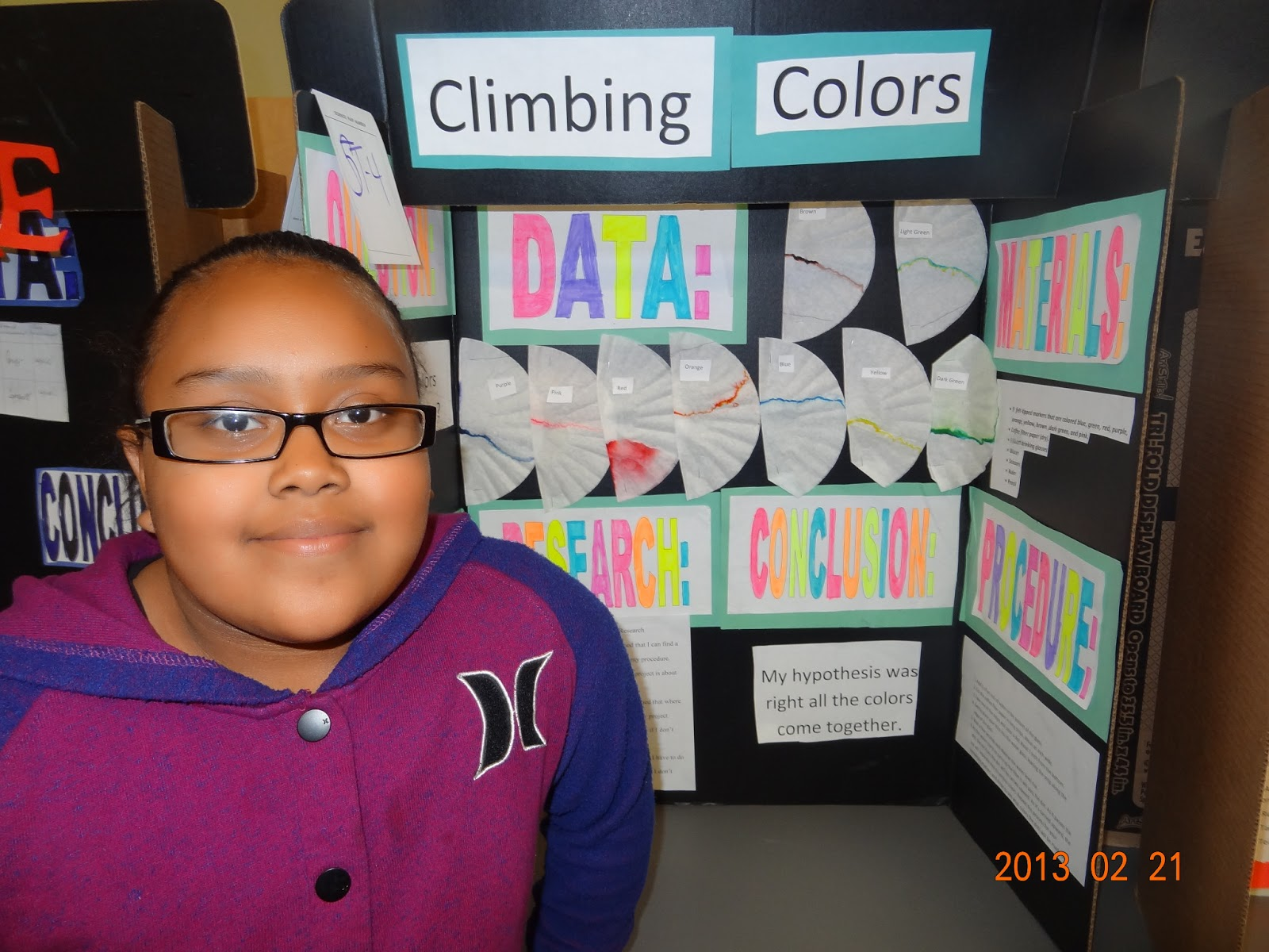 junior historians: science fair projects