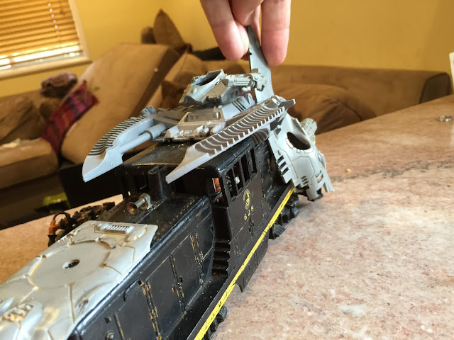 Looting Eldar Rockets; Looting Eldar Bits; Ork Looted Wagon with Eldar