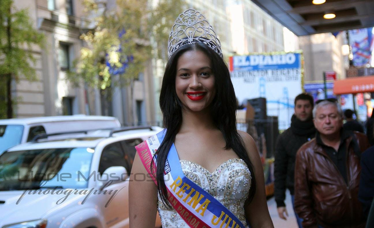 Desfile de la hispanidad de Manhattan, Nueva York 2014 - Reina juvenil dominicana
