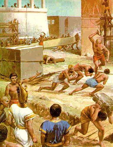 Povo Hebreu Escravo No Egito Picture