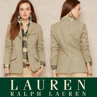 Princess Mar y Style Ralph Lauren Lambswool-Blend Tweed Jacket