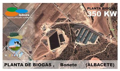 contenedor planta de biogas bonete albacete 350 KW INDEREN biodigestores ENERGIAS RENOVABLES VALENCIA