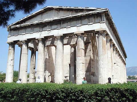 Arquitectura en la antigua grecia for Casas griegas antiguas