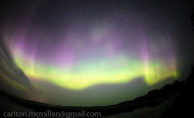 Auroras boreales 15 de Julio 2012