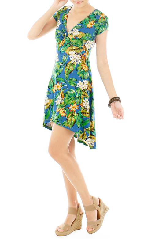 Fresh Tropics Sundress – Yellow Flowers
