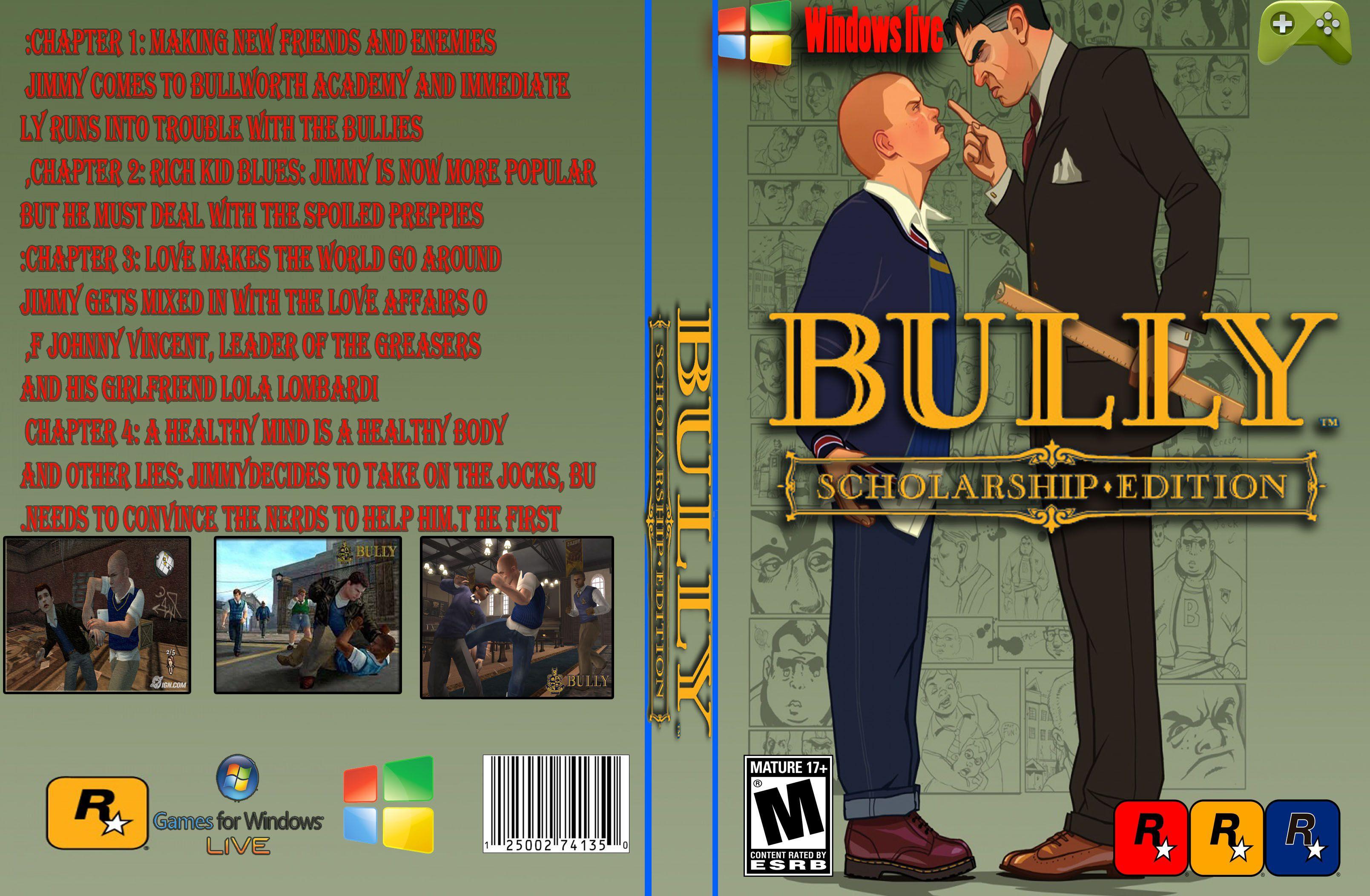 Capa Bully Scholarship Edition PC