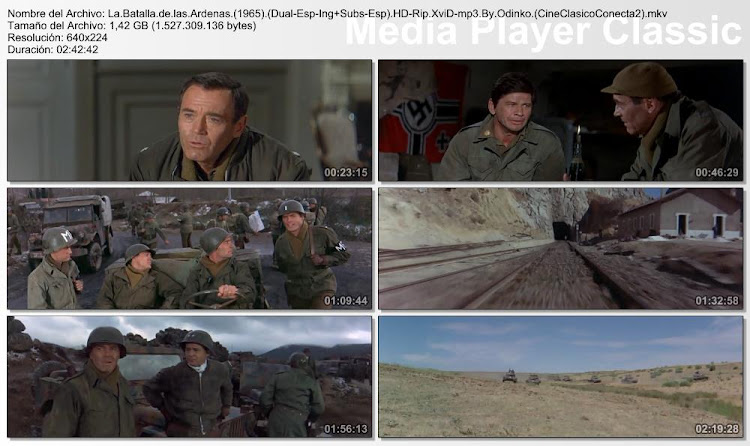 Imagenes: La batalla de las Árdenas | 1965 | Battle of the Bulge | Capturas