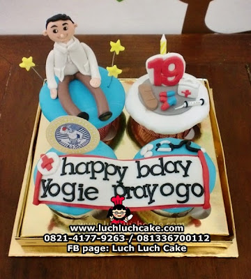 Cupcake Dokter Airlangga Daerah Surabaya - Sidoarjo