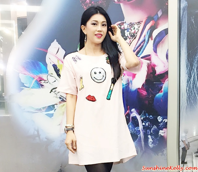 Smile Linen dress, Corshacomo, MAC Halloween Party 2015, MAC Holiday 2015 collection, ootd, ootn, halloween party, pop art, cleopatra makeup