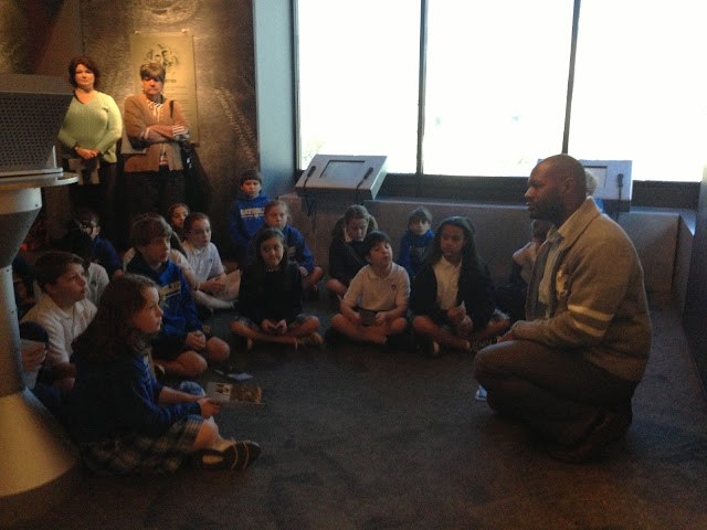Montgomery Catholic 4th graders visit the Civil Rights Memorial Center 2