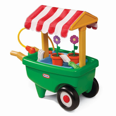 Little Tikes Garden Cart & Wheelbarrow