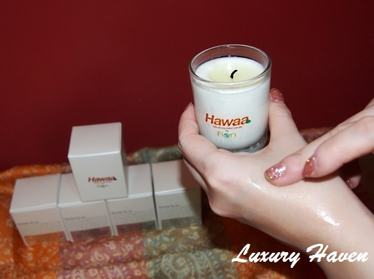 flenco hawaa natural soy lotion candle