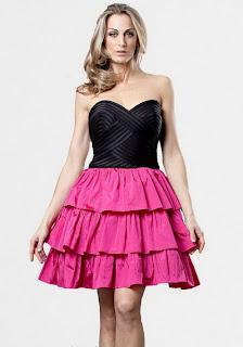 Foto de vestido curto 2 cores