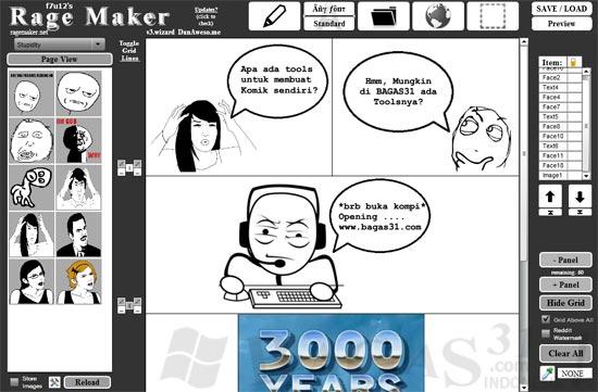 Rage Maker - Cara Mudah Membuat Komik 3
