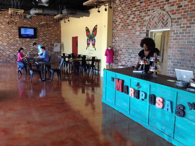 the ink well: Mariposas Latin Kitchen OPEN NOW