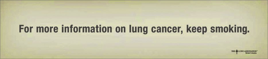 The Lung Association Campanha contra o uso do cigarro câncer de pulmão