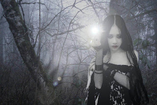 Dark Asian Gothic Girl Dark Gothic Wallpaper