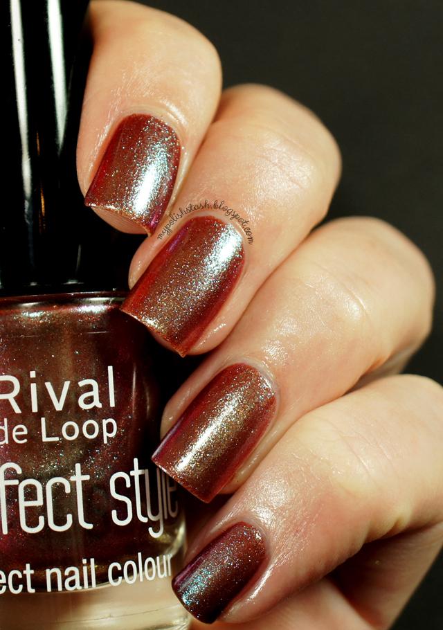 multichrome brown purple nail polish
