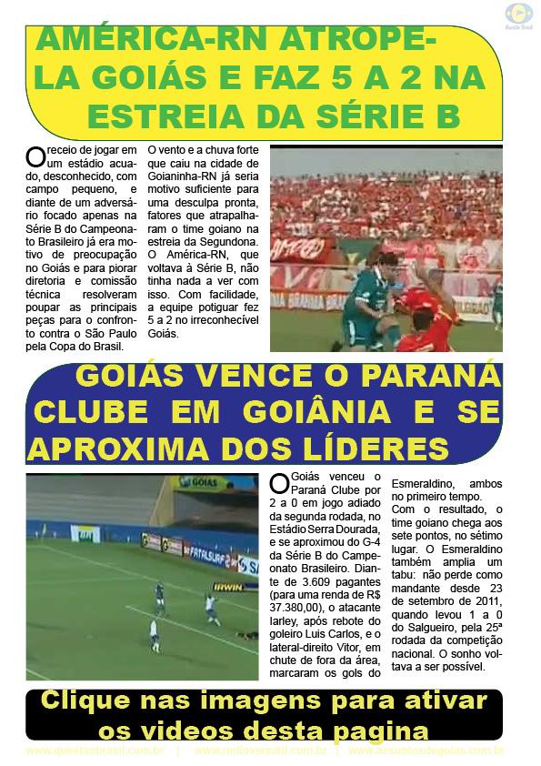 Goiás Esporte Clube, Setor Pedro Ludovico, Goiânia, Reinaldo Cruz, Rádio Versátil, BUGNEWS