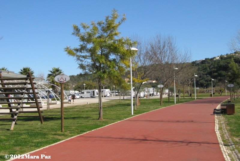 Silves - park by the river