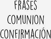 Frases Comuniones