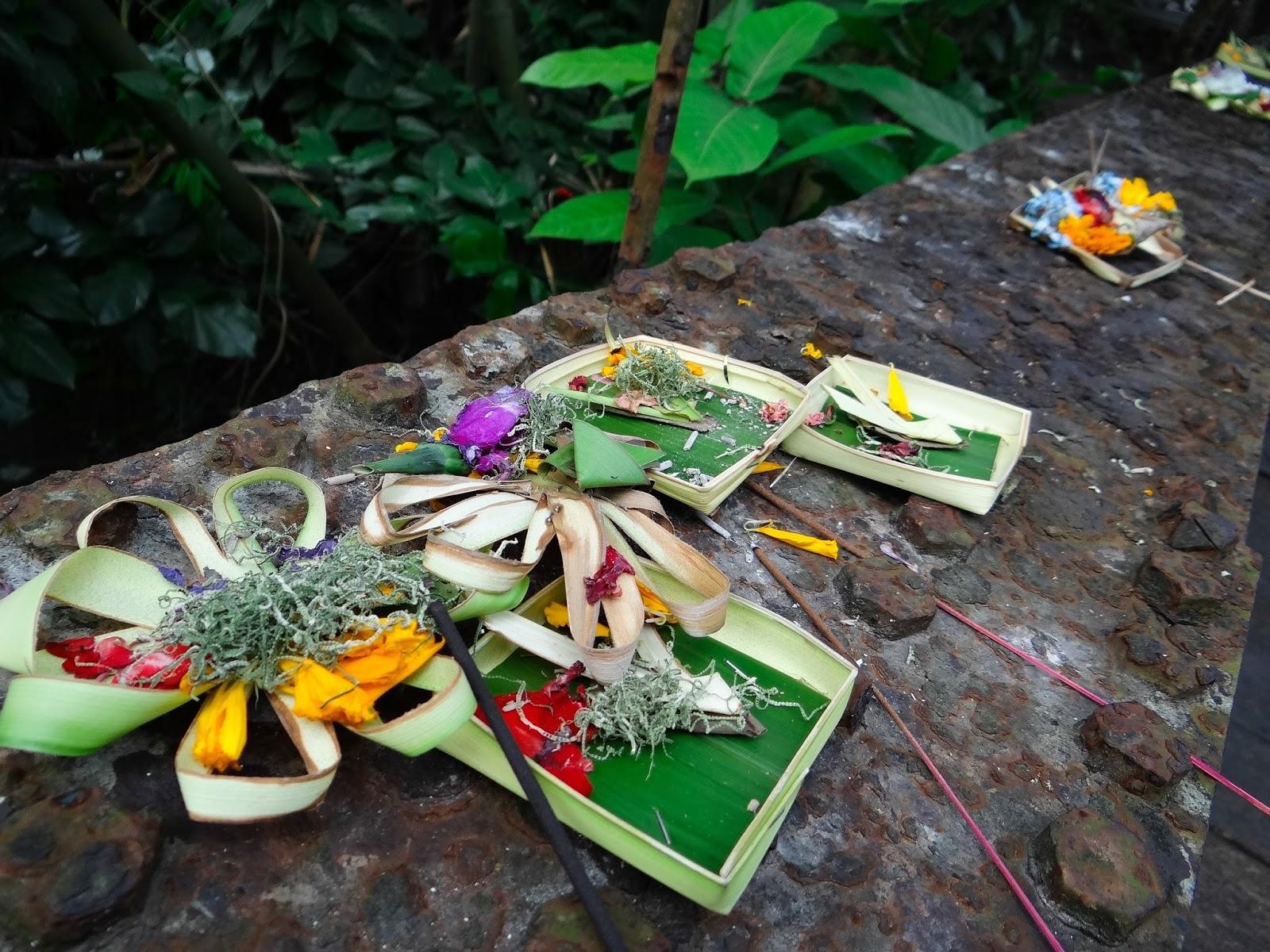 Ubud Bali offrande