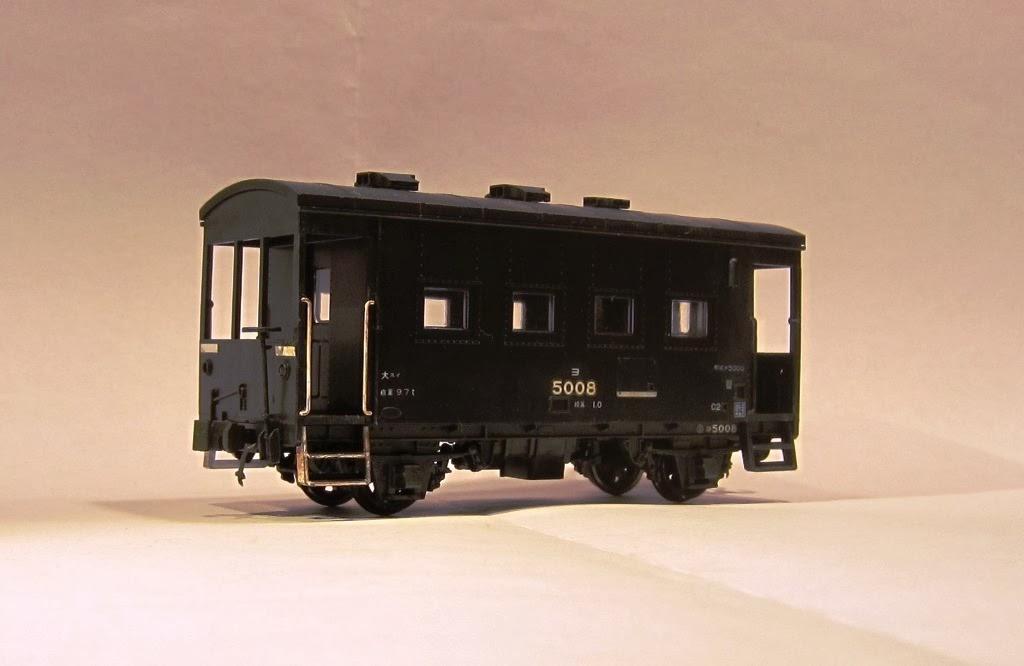 鉄道模型: 国鉄ヨ5000形貨車 - Y...