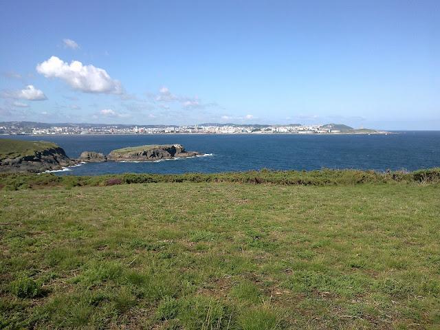 Isla de Montemeán desde el Seixo Blanco