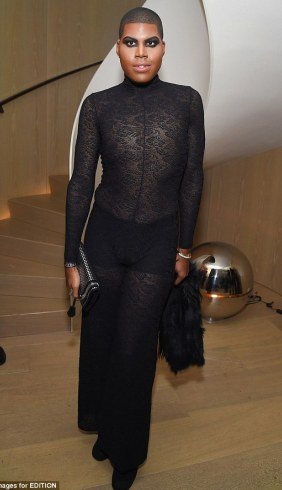 EJ Johnson slays in risque outfit to Fashion Party!