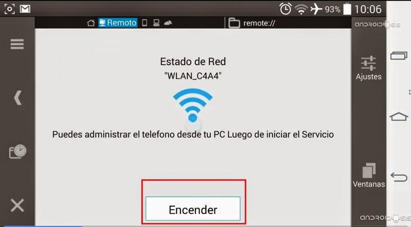 Como Administrar Los Archivos Android De Manera Inalambrica