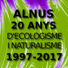 20è Aniversari Alnus-Ecologistes de Catalunya