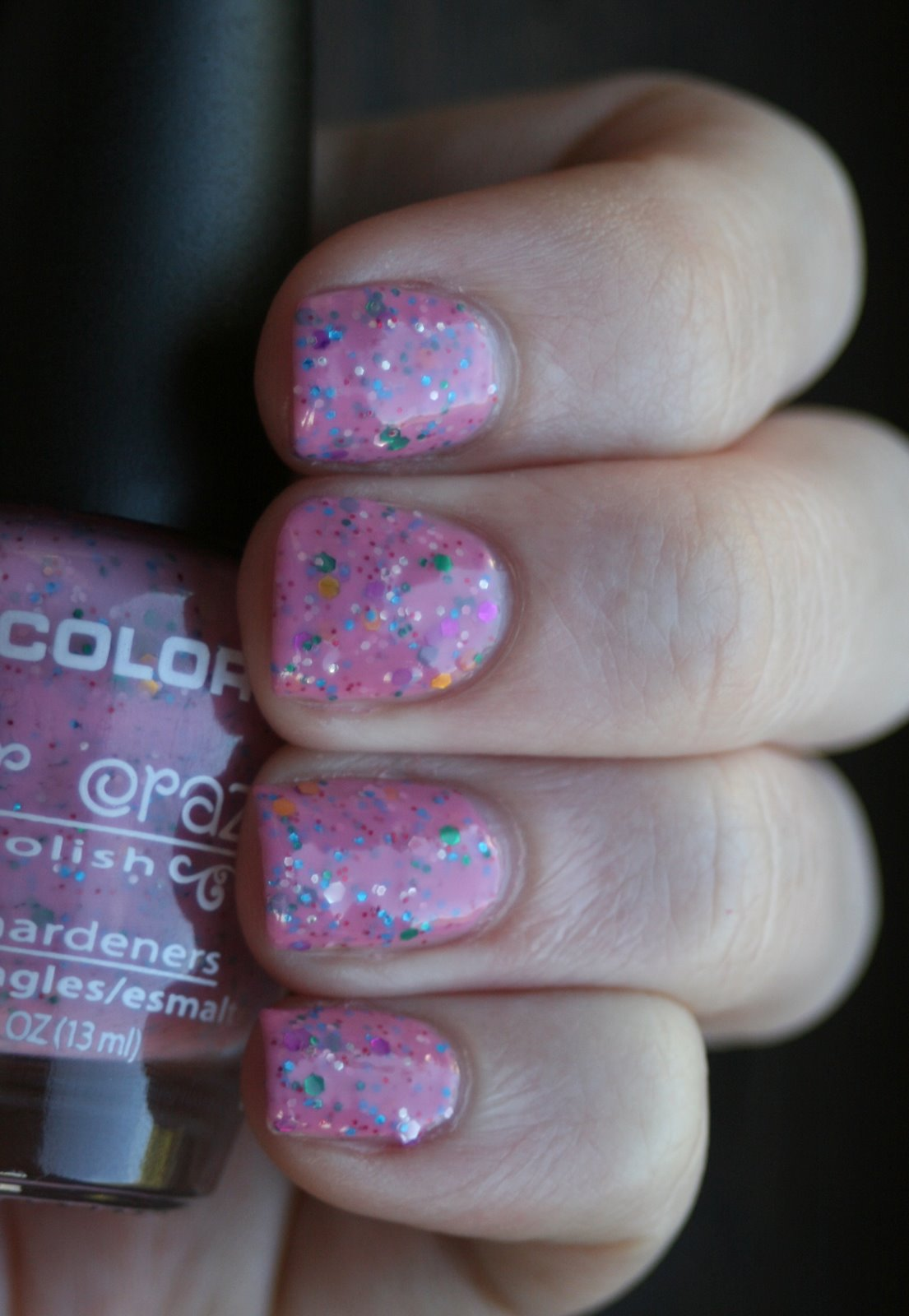 LA Colors Candy Sprinkles swatch