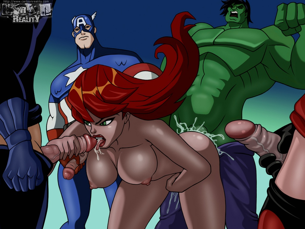 Black Widow Avengers Hentai Porn
