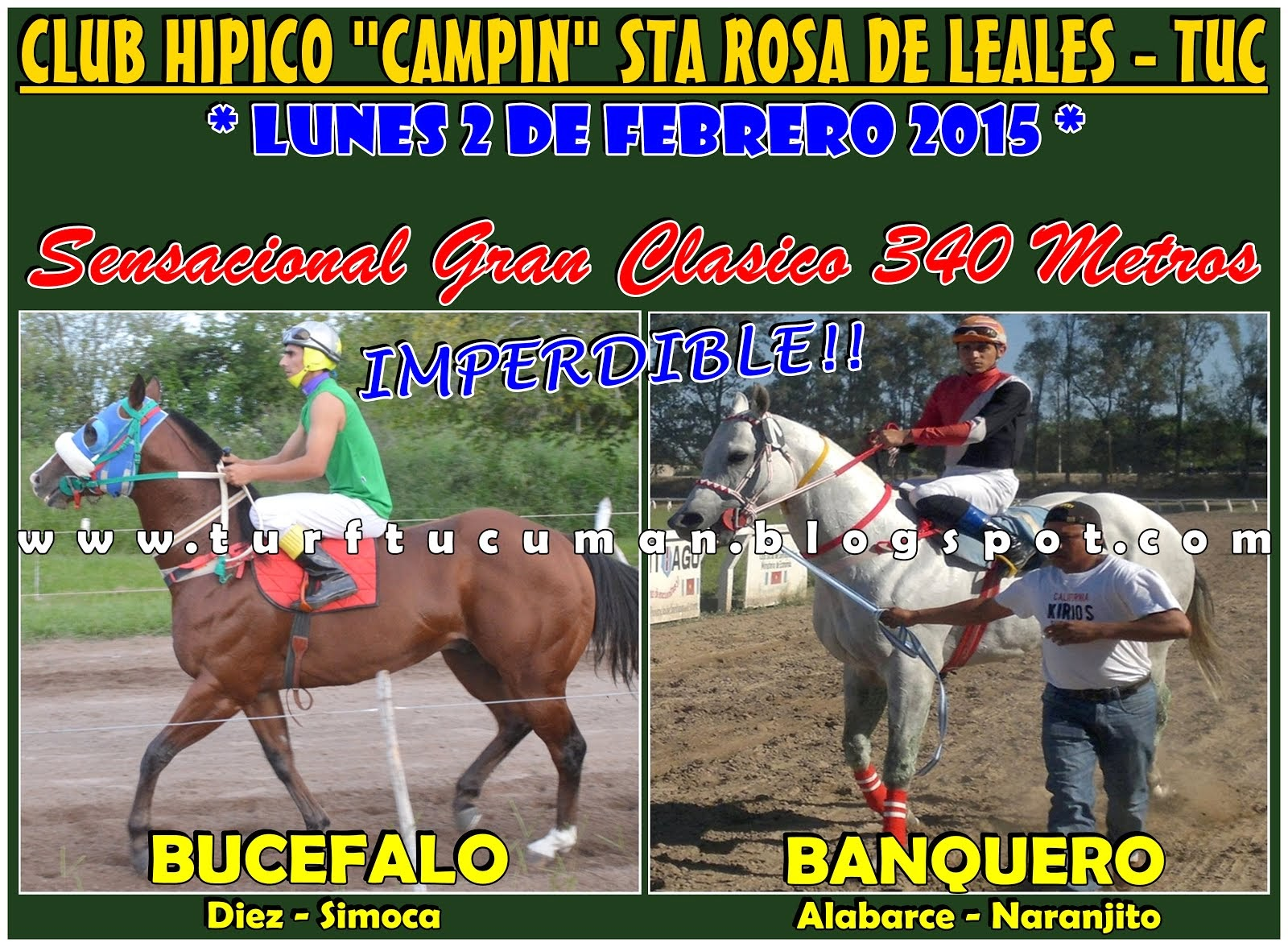 BUCEFALO VS BANQUERO