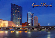 0108 UNITED STATES (Michigan)Grand Rapids skyline