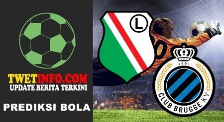 Prediksi Legia vs Club Brugge