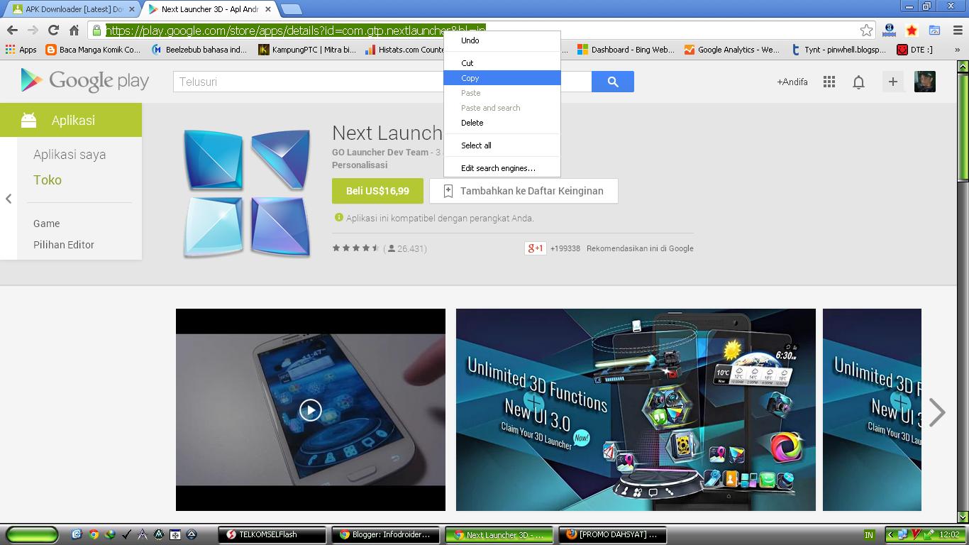 download aplikasi dari playstore