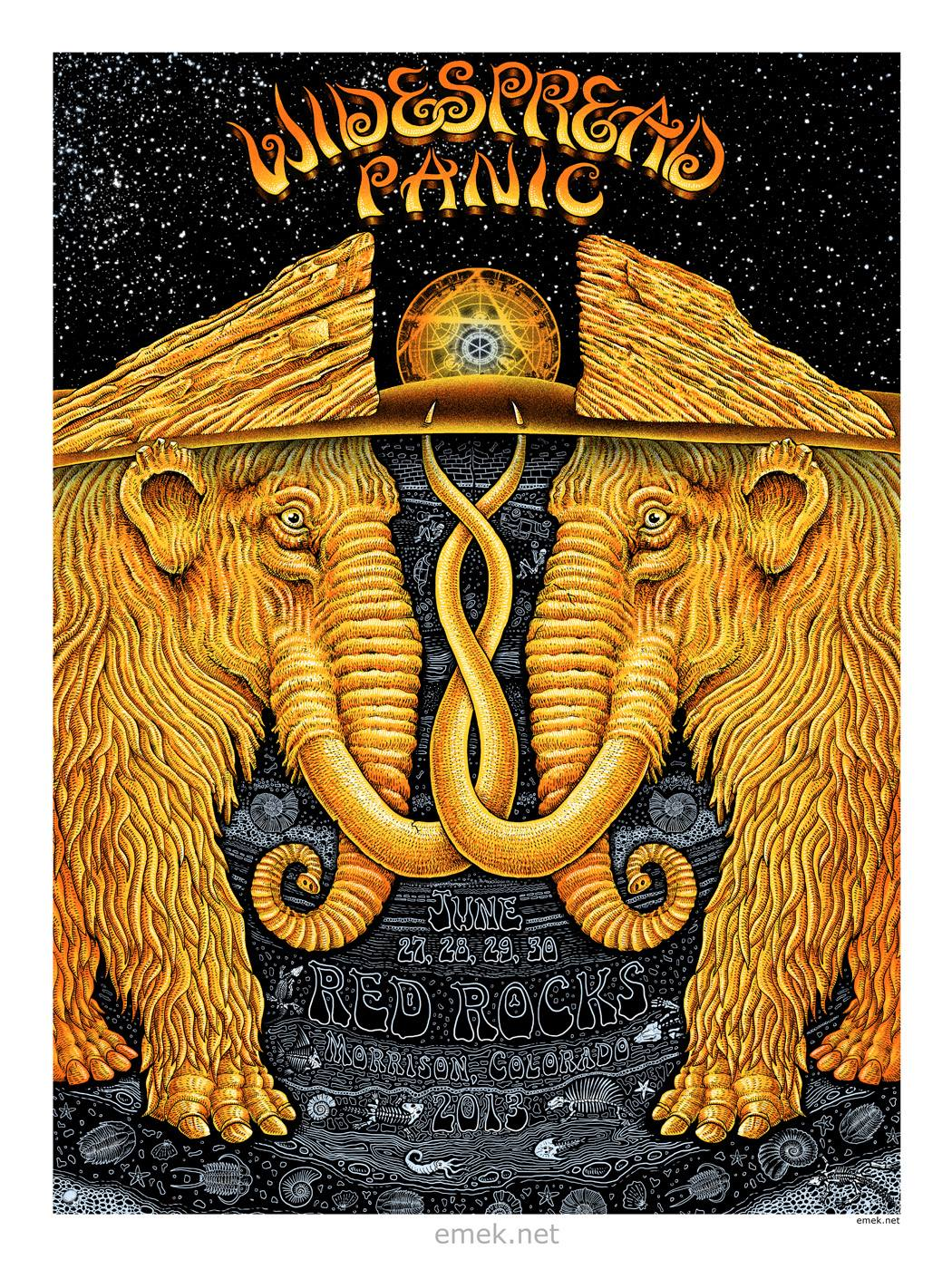 Inside The Rock Poster Frame Blog Tonight S Widespread