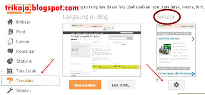 Cara Agar Blog Bisa diakses Via Handphone