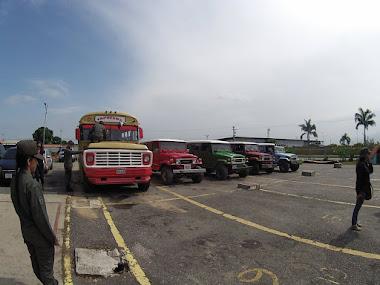 Retenidas en Mérida 39 unidades de transporte vinculadas al contrabando