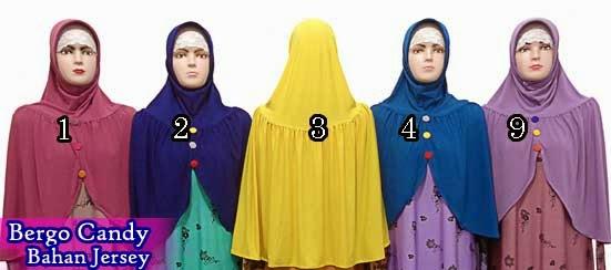 Grosir Jilbab Bergo varian kancing Harga Murah Serta Tampil Elegant