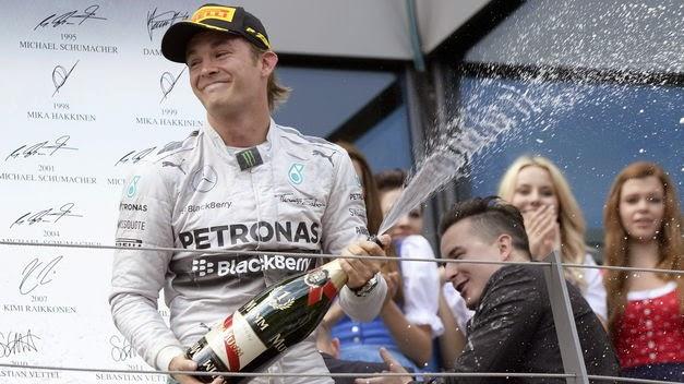 El líder del mundial Nico Rosberg afianza su liderato
