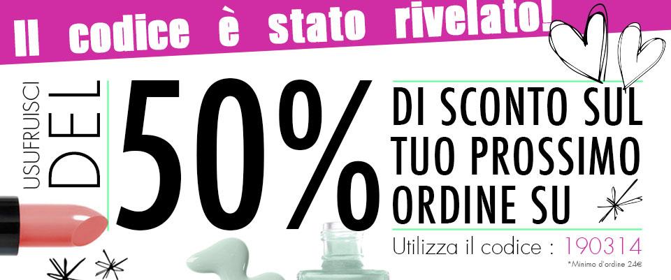 E.L.F. - Sconto 50% Primavera 2013