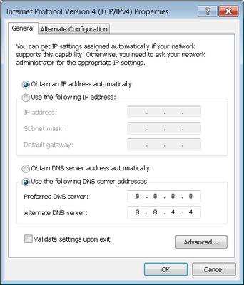 ... DNS Google dan 3 Solusi Tepat dan Benar Untuk Mempercepat INTERNET