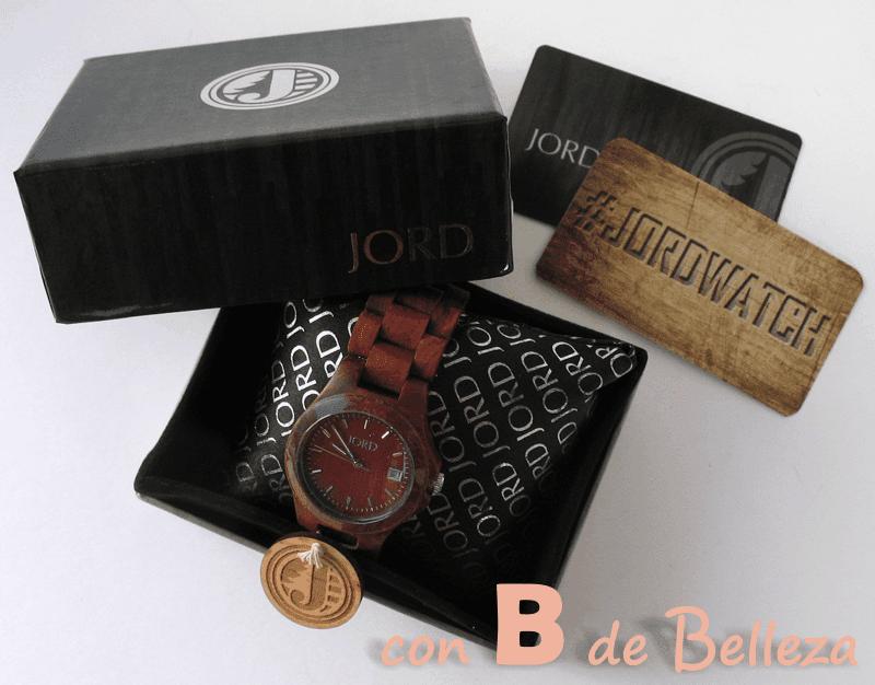 Reloj madera JORD watch