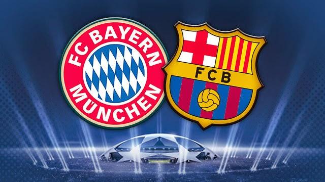 Prediksi Bayern Munchen vs Barcelona 13 Mei 2015, Liga Champions