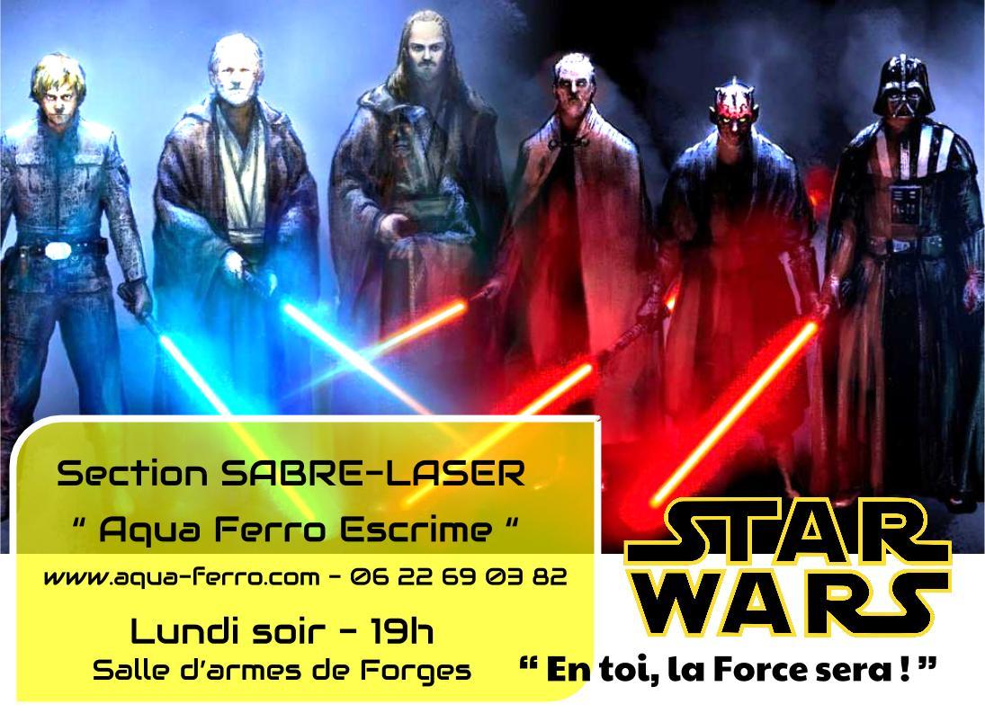 Sabre laser aqua ferro escrime for Cabaret onirique